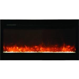 50 inch Built-in Elec Fireplace w/sleek glass face
