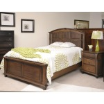 Reminisce Cal King Arch Panel Bed