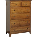 Jamestown Square 6 Drawer Chest Large