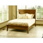 Jamestown Square Full Bed with Low Footboard