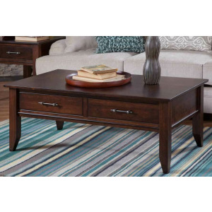 Cortland Cocktail Table w/Drawers