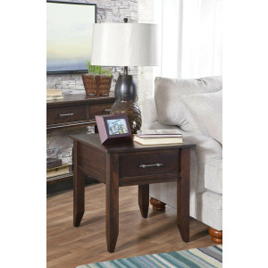 Cortland End Table w/Drawer