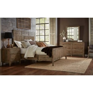 Panel Bed - King