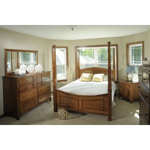 Jamestown Square Full Poster Bed