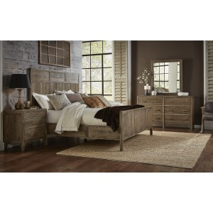 Sonoma Panel Bed - Queen