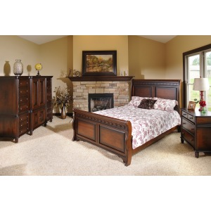 New Generations King Sleigh Bed