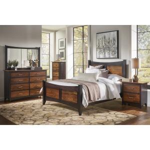 Grampian Panel Twin Bed