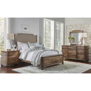 Montour California King Upholstered Panel Bed