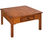 Country Lodge Square Coffee Table