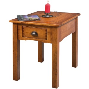 Country Lodge End Table