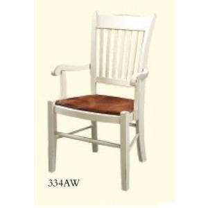 Arm Chair (Wood Seat)