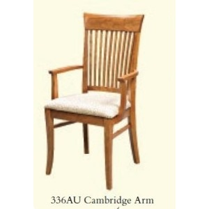 Cambridge Arm Chair (Upholstered Seat)