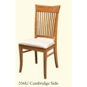 Cambridge Side Chair (Upholstered Seat)