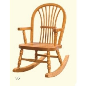Childs Wheatback Rocker