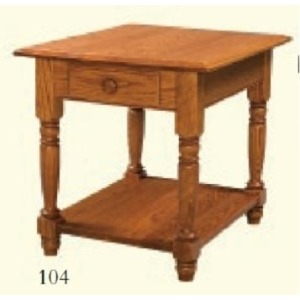 Colonial End Table