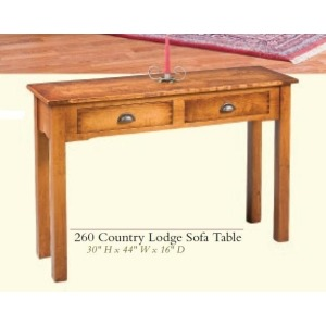 Country Lodge Sofa Table