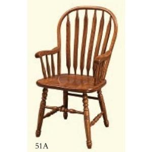 Deluxe Paddleback Windsor Arm Chair