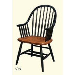 Eight Spindle Arm Chair