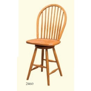 Eight Spindle Barstool