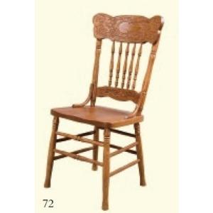 English Garden Pressback Side Chair