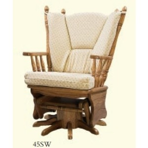 Four Post Swivel Glider Rocker