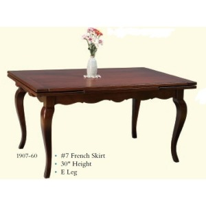 French Drawleaf Table