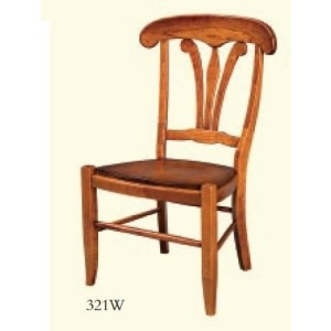 Manor House Side Chair (Wood Seat)