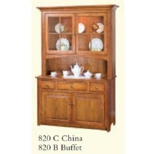 Shaker 2 Door China Cabinet