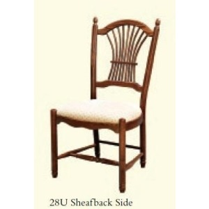Sheafback Side Chair (Upholstered Seat)