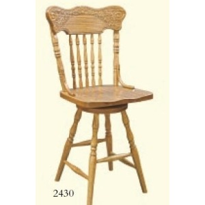 Spring Meadow Swivel Barstool