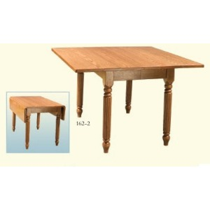 Square Dropleaf Extension Table