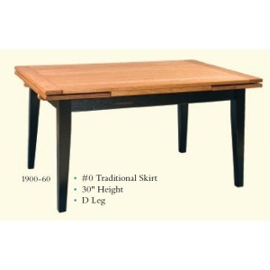 Traditional Drawleaf Table
