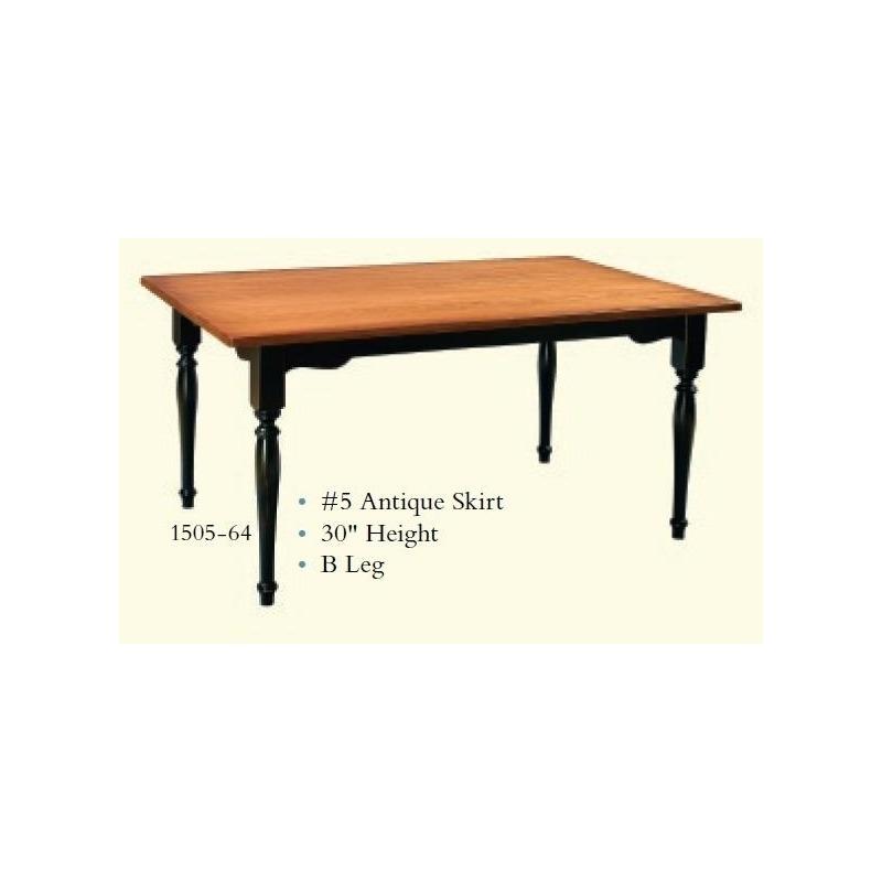 1505-64 Farm Table