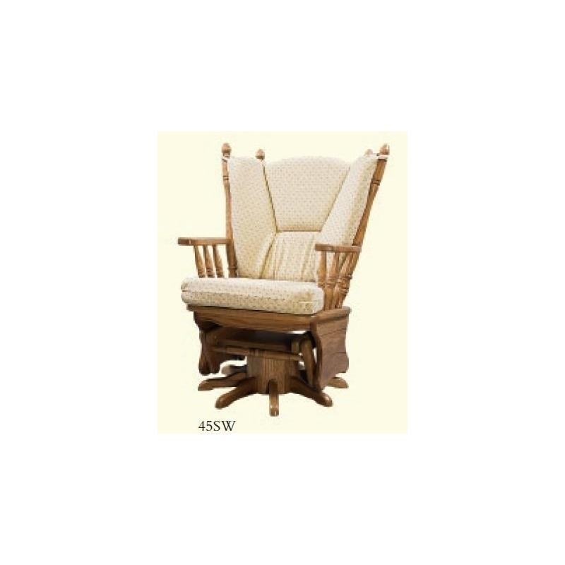 Remarkable Four Post Swivel Glider Rocker By Zimmerman Chairs 45Sw Unemploymentrelief Wooden Chair Designs For Living Room Unemploymentrelieforg