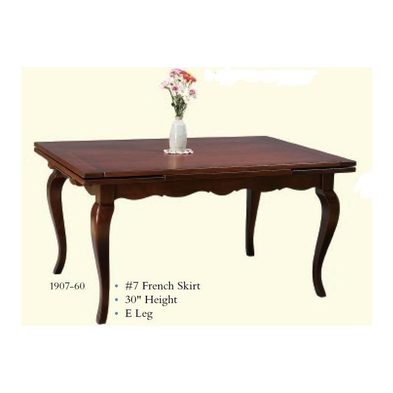 French Drawleaf Table