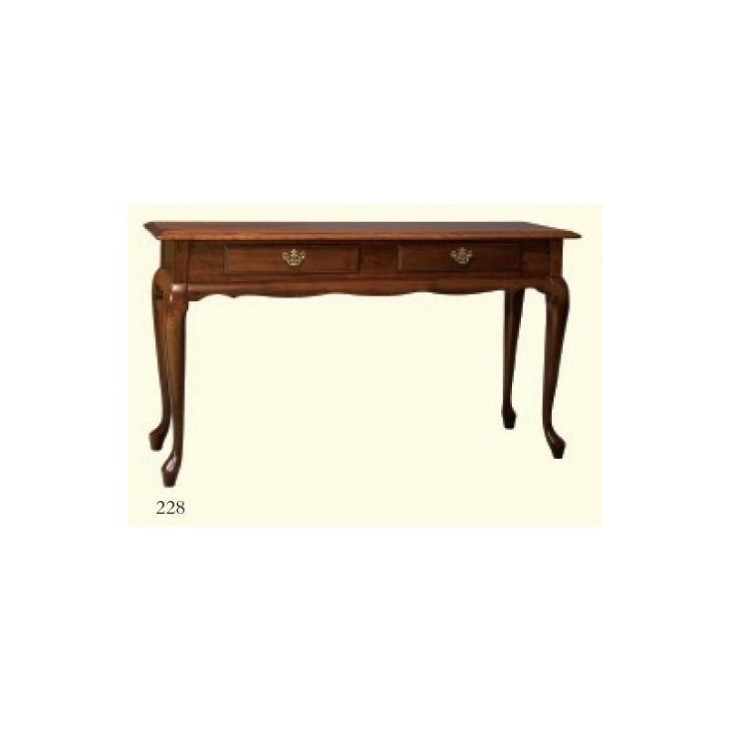 Fantastic Queen Anne Sofa Table By Zimmerman Chairs 228 Gladhill Gmtry Best Dining Table And Chair Ideas Images Gmtryco