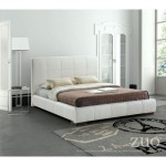 AMELIE BED QUEEN WHITE