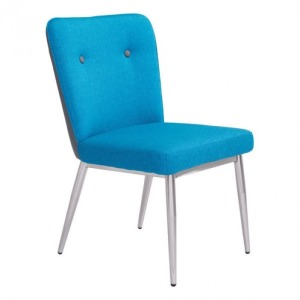HOPE DINING CHAIR BLUE/GRAY