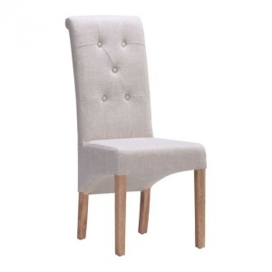 HAYES VALLEY DINING CHAIR BEIGE
