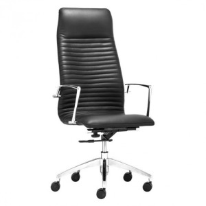 LION HIGH BACK OFFICE CHAIR BLACK
