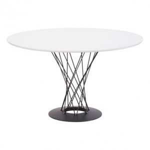 SPIRAL DINING TABLE WHITE