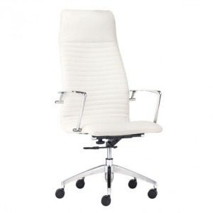 LION HIGH BACK OFFICE CHAIR WHITE