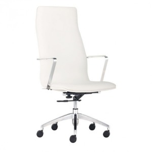 HERALD HIGH BACK OFFICE CHAIR WHITE