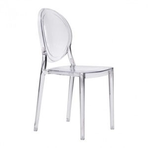 SPECTER DINING CHAIR CLEAR