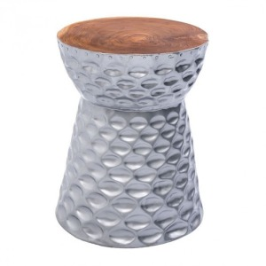 TING STOOL SILVER