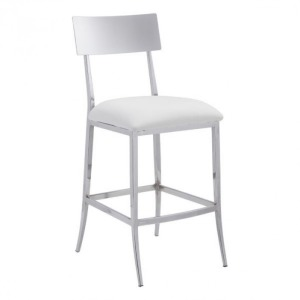 MACH COUNTER CHAIR WHITE