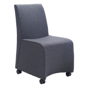 WHITTLE DINING CHAIR DARK GRAY