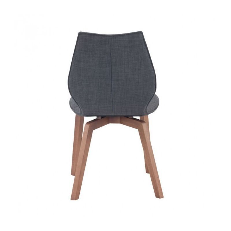 AALBORG DINING CHAIR GRAPHITE